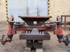 Oprava poškodenia nápravy - 1.krok